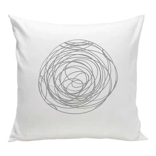 Spun Organic Pillow (Grey)
