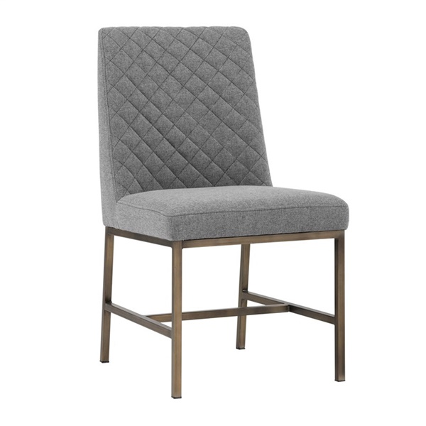 5West Leighland Dining Chair (Dark Gray)