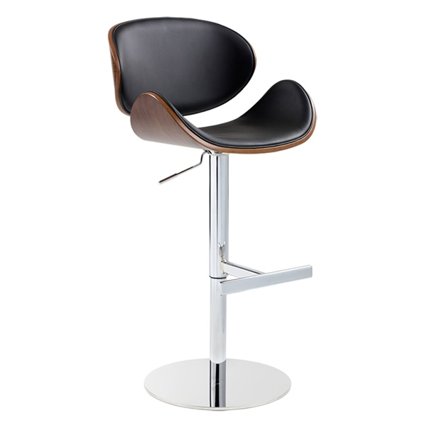 Bowen Adjustable Barstool (Onyx)