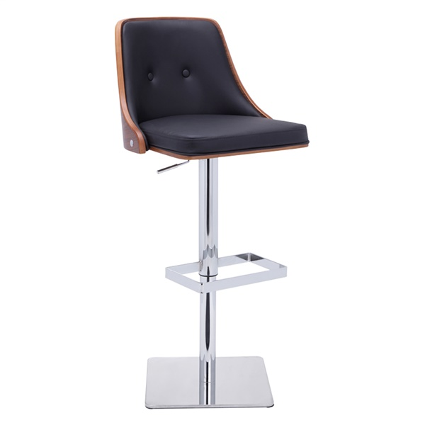 Braiden Adjustable Barstool (Onyx)