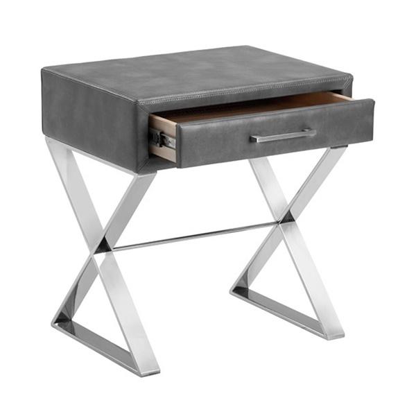 Casa End Table (Gray)
