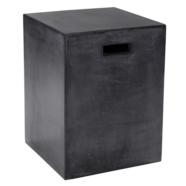 Castor End Table (Black)