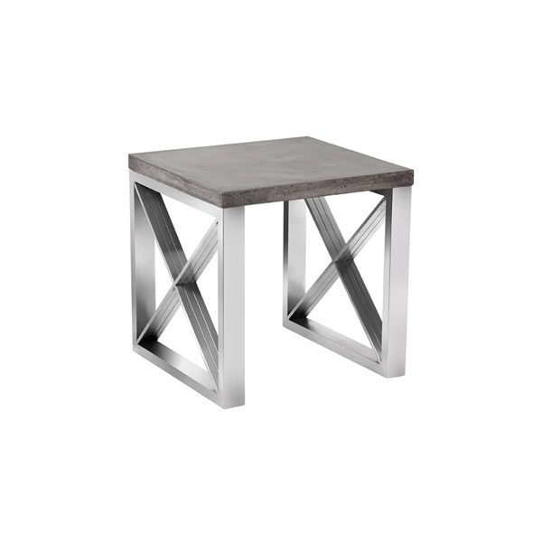Catalan Concrete End Table
