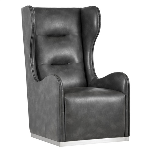 Club Franny Swivel Chair (Nobility Gray)