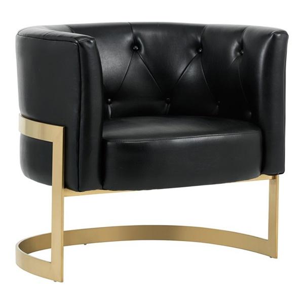 Club Karissa Club Chair (Nobility Black)
