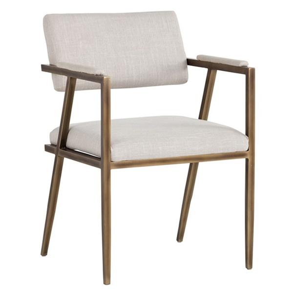 Irongate Ventouz Armchair (Beige Linen)