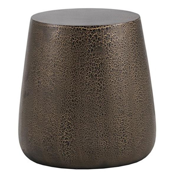 Solterra Rollo Side Table (Black)