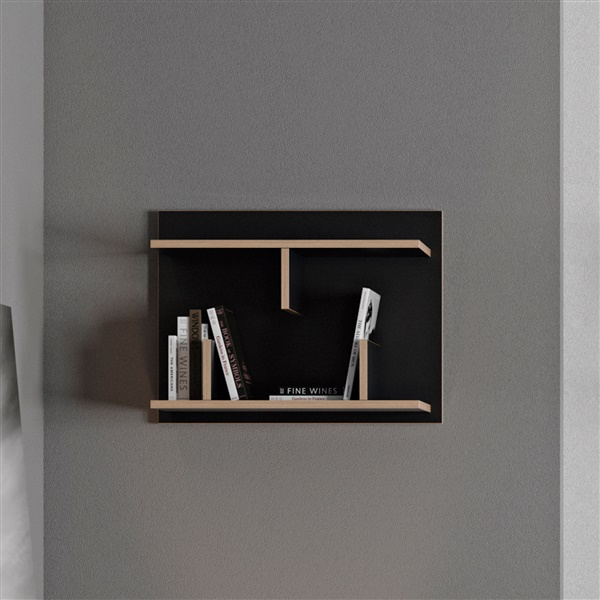 Bern 60 Wall Shelf (Black)