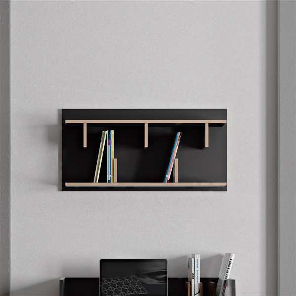 Bern 90 Wall Shelf (Black)
