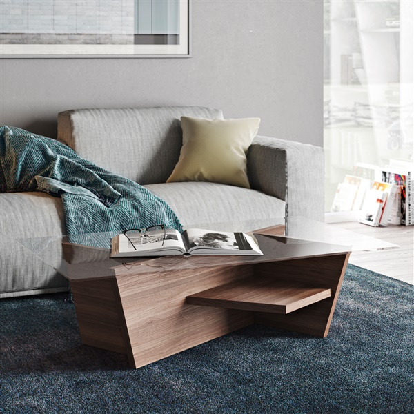 Oliva Coffee Table (Walnut)