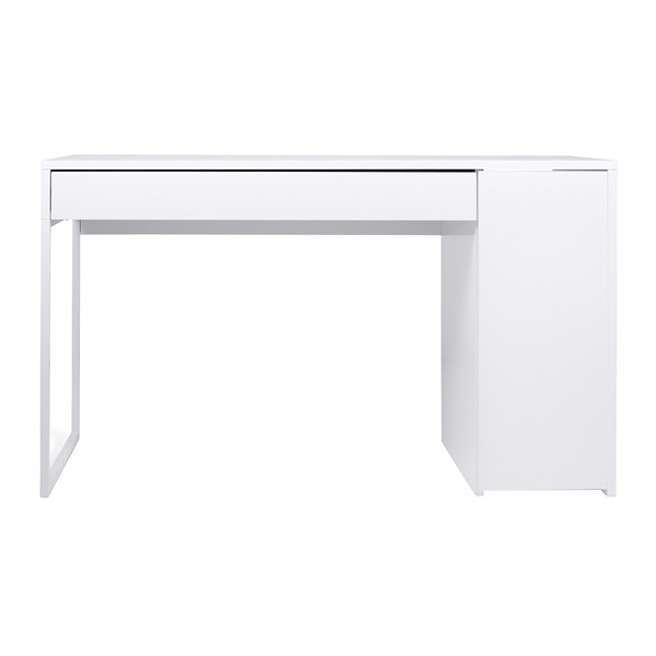 Prado Home Office Desk (Pure White / White Lacquer)