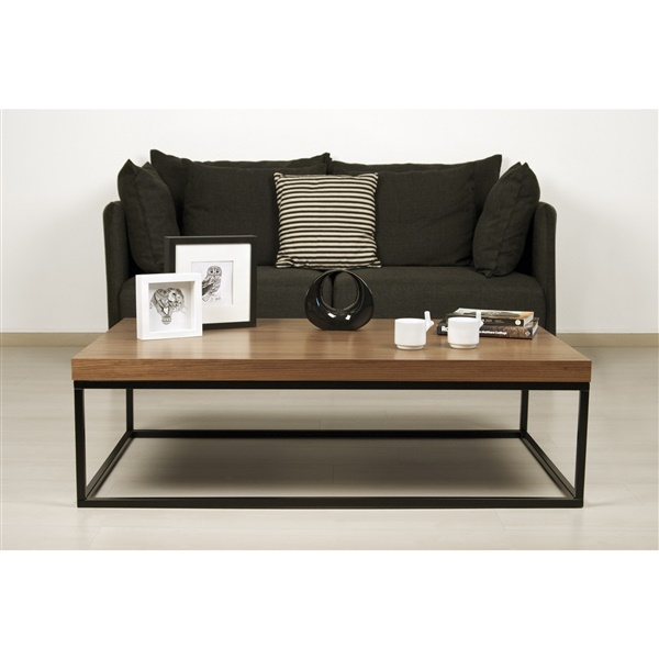 Prairie 47 x 30 Coffee Table (Black)
