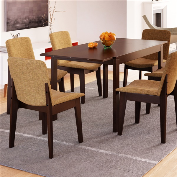 Thora Extendable Dining Table - Extendable beech dining table