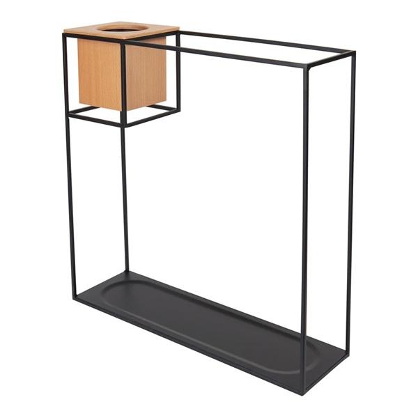 Cubist Large Shelf - Sand/Black