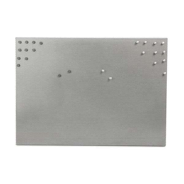 Large Bulletboard - Nickel