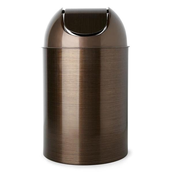 Mezzo Trash Can (Bronze)