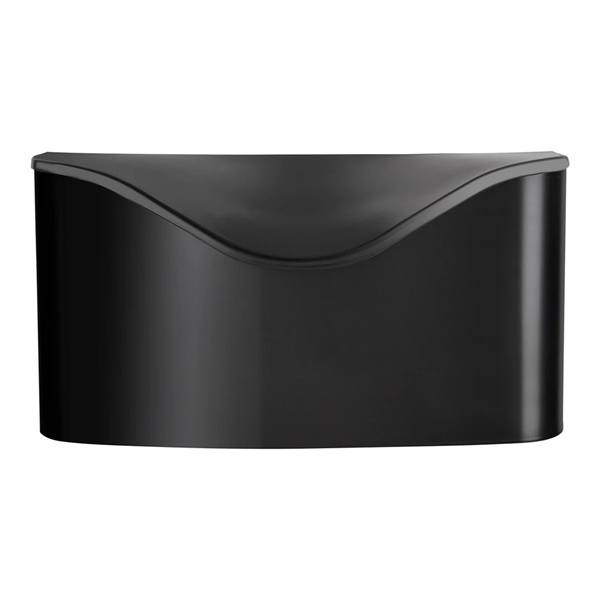 Postino Wall-Mount Mailbox (Black)