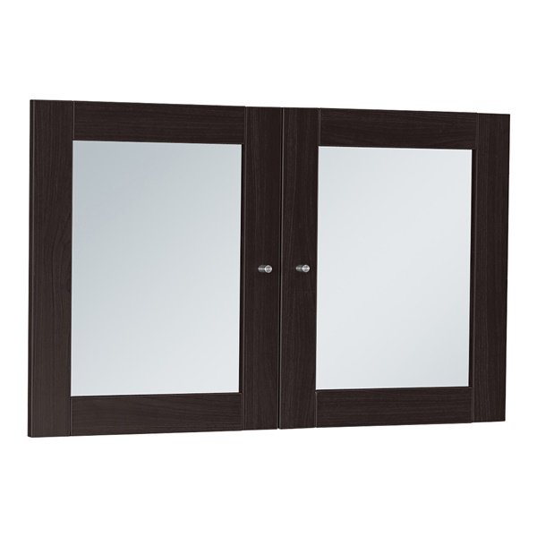 100 Series Glass Doors for Hutches and Bookcases (Espresso)