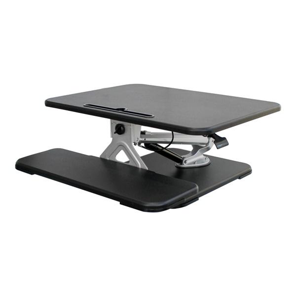 200 Series Adjustable Desk Riser (Black)