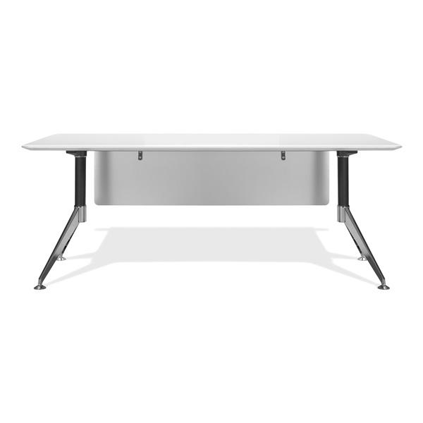 400 Series Computer Desk (White)