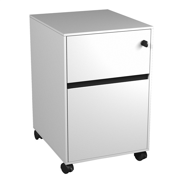 400 Series Mobile Pedestal (White)