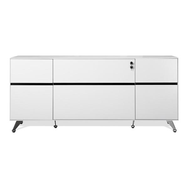 400 Series Storage Credenza (White)