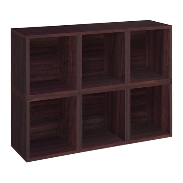 Way Basics Modular Storage Cube Plus (Espresso - EO)