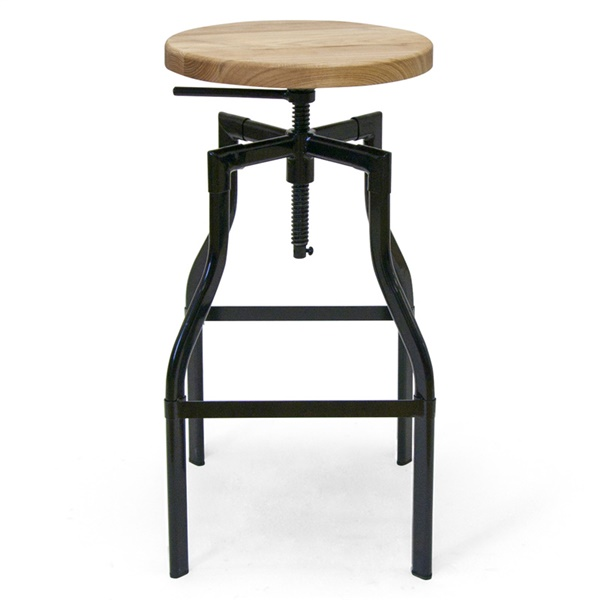 Whitworth Drafting Stool (Natural Ash / Black)