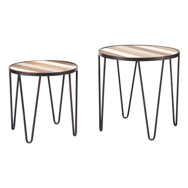 2-Piece Tray Table Set