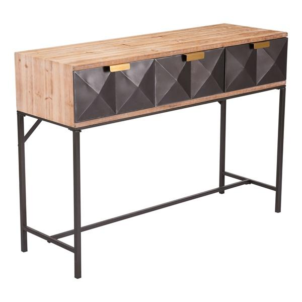3 Drawer Console Table. U003e