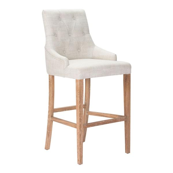Burbank Bar Chair - Beige