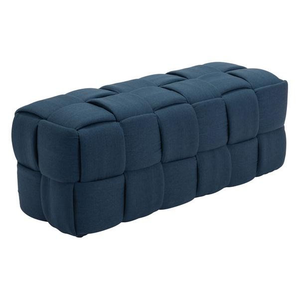 Checks Bench (Navy Blue)