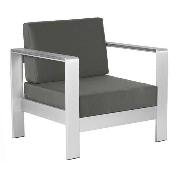 Cosmopolitan Arm Chair Cushion (Dark Gray)
