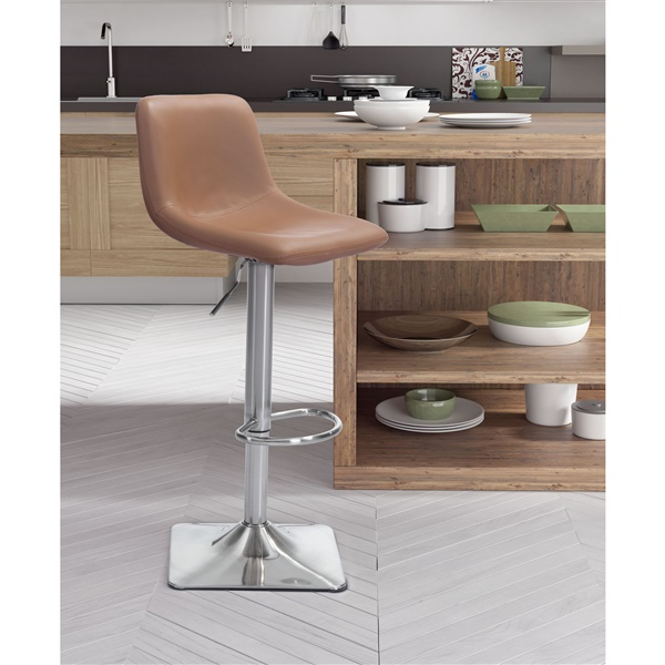 Cougar Bar Chair (Taupe)