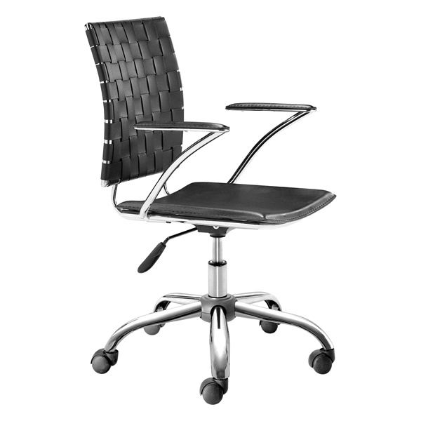 Criss Cross Office Chair (Black)