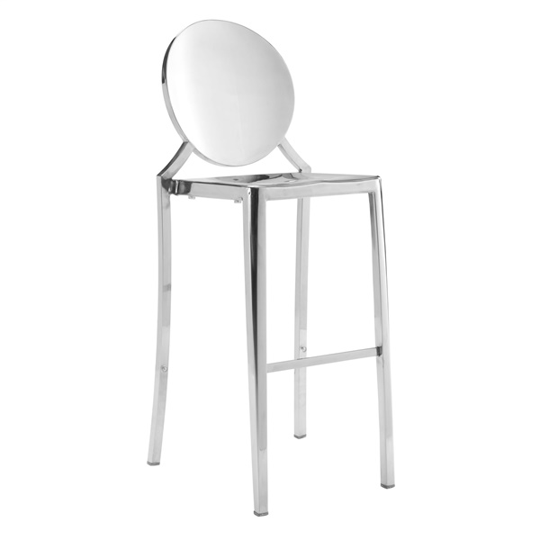Eclipse Bar Chair (Stainless Steel)