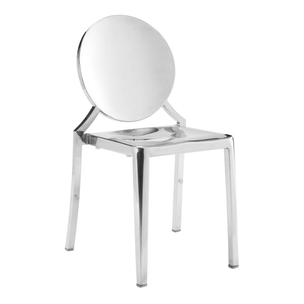 Eclipse Dining Chair (Stainless Steel)