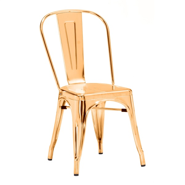 Elio Dining Chair (Gold)