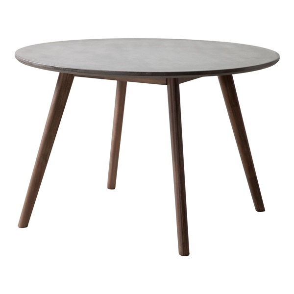 Elite Dining Table - Cement/Natural
