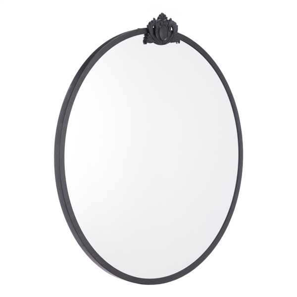 Empire Round Mirror