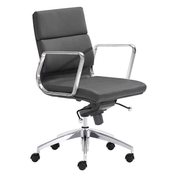 Engineer Low Back Office Chair (Black)