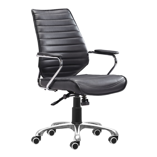 Enterprise Low Back Office Chair (Black)