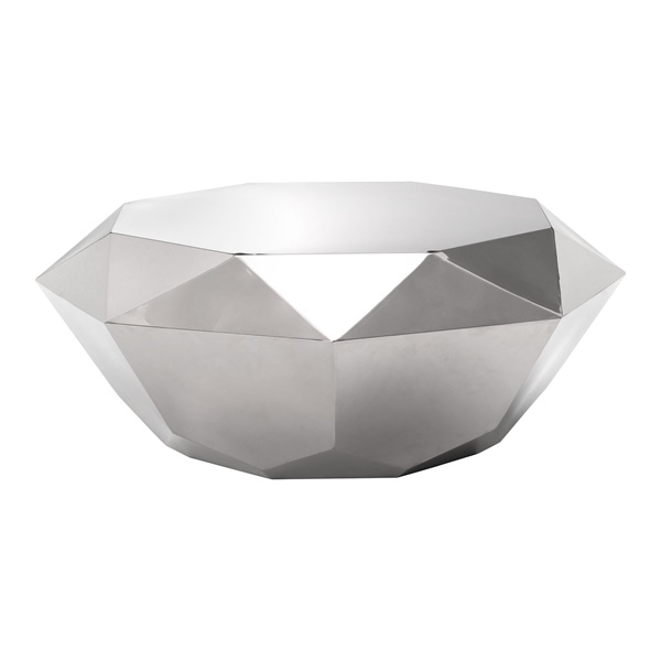 Gem Coffee Table (Stainless Steel)