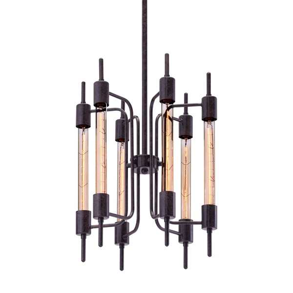 Gisborne Ceiling Lamp - Distressed Black