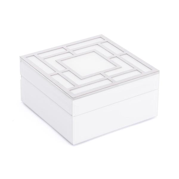 Glass Square Box