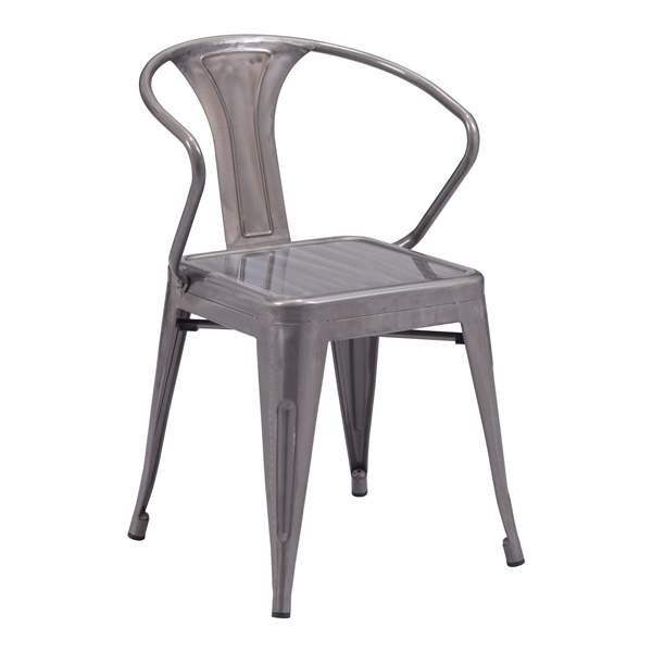 Helix Chair (Rustic Wood)