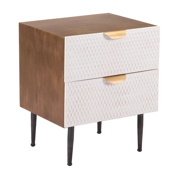Honeycomb End Table
