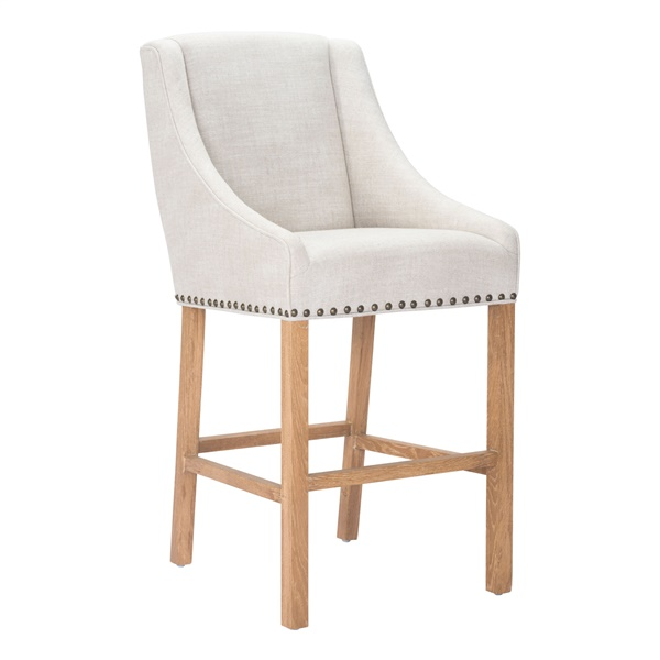 Indio Bar Chair - Beige