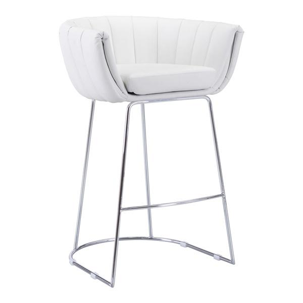 Latte Bar Chair (White)