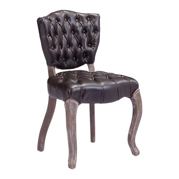 Leavenworth Dining Chair - Brown